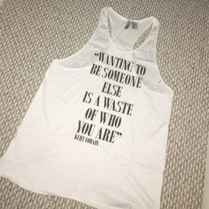 Distressed Kurt Cobain H&M Tank